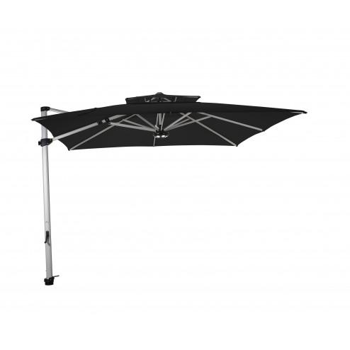 Laterna zweefparasol 300*300cm. zwart