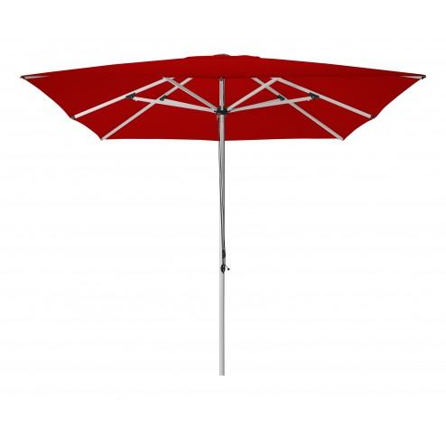 Patio parasol 300*300cm. rood