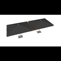 Regengoot PVC 300cm Taupe