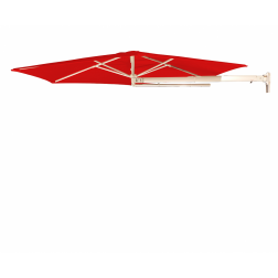 P4 Muurparasol Traffic Red (ø270cm)