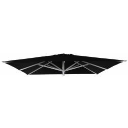 Parasoldoek Patio Zwart (300*300cm)