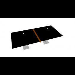 Regengoot PVC 330cm Taupe